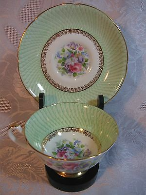 Royal Grafton Fine China Footed Cup and Saucer #8288