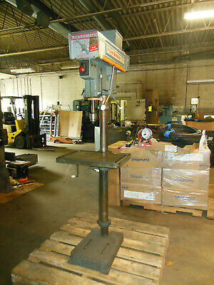 Powermatic 15 Drill Press Model 1150a. 420-4800 Rpm 34 Hp Motor 220-440vac 3