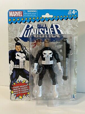 Marvel Legends Punisher Vintage NEW SEALED FREE SHIPPING Hasbro