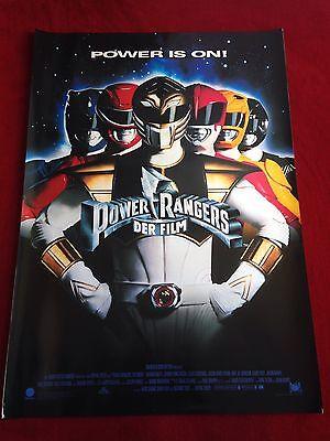Power Rangers Der Film Kinoplakat A1, Filmplakat, Poster