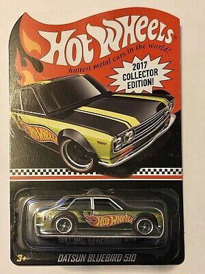 Hot Wheels Exclusive Datsun Bluebird 510. Kmart Mail In. 2017 Collector Edition.
