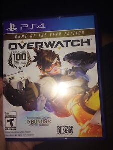 OverWatch game of the year edition! PS4