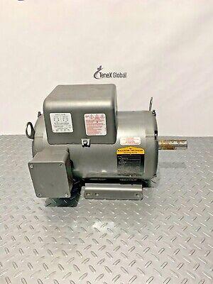 Baldor 7.5 Hp Electric Motor 208-230 V 1 Ph 3450 Rpm P-15