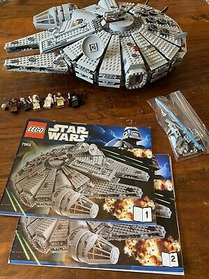 Lego Star Wars Millennium Falcon (7965) Pre-owned in a Loving Home -not Complete