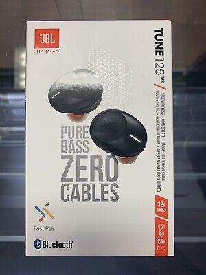 JBL Tune 125TWS True Wireless In-Ear Bluetooth Headphones Brand New Sealed
