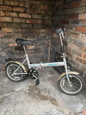 """Unisex Ammaco Pakka Supreme Folding Bike 20"""" Wheels"""