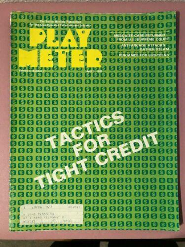 Play Meter Magazine April 1, 1982