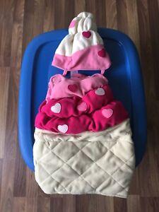 Baby girl costumes 12-24m
