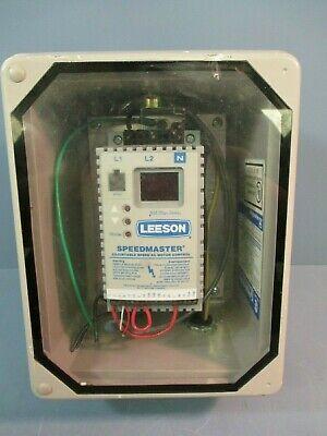 Leeson Sm Plus Series Speedmaster Adjustable Speed Ac Motor Control 174451