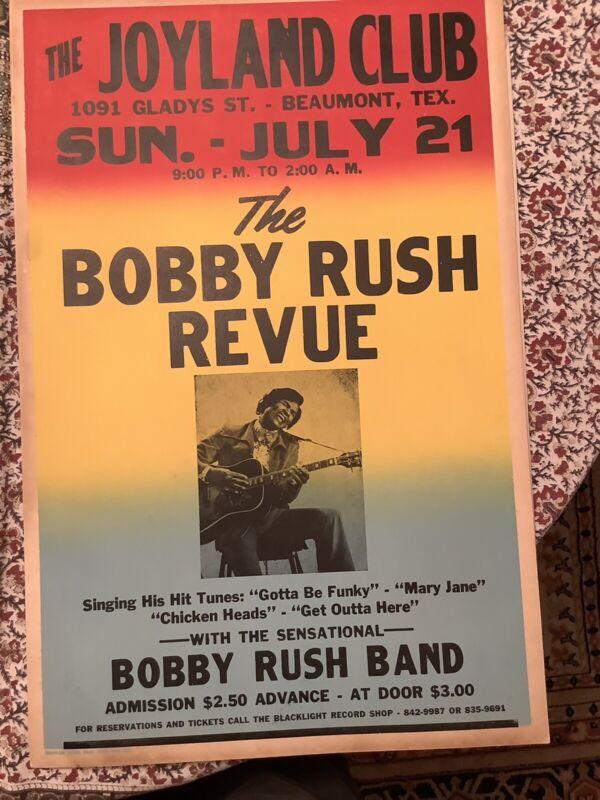 Bobby Rush Revue soul poster 1971