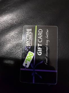 Anytime Fitness Gift Card Greensborough Only