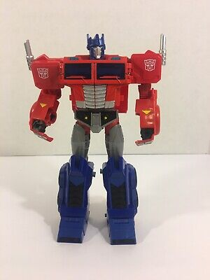 Transformers Cyberverse Ultimate Class Optimus Prime Matrix Mega Shot -Hasbro