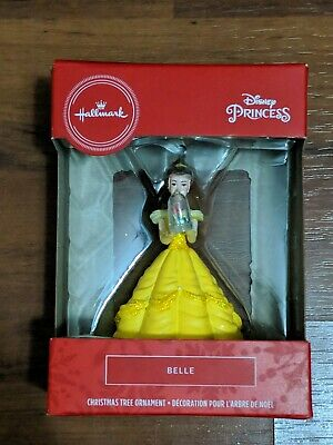 Hallmark Belle & Rose Christmas Ornament Holiday Decor Disney Princess New