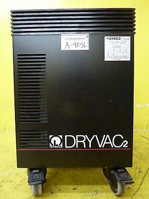 Dryvac2 100 P Leybold 13885 Dry Vacuum Pump 6 Mtorr Used Tested Working