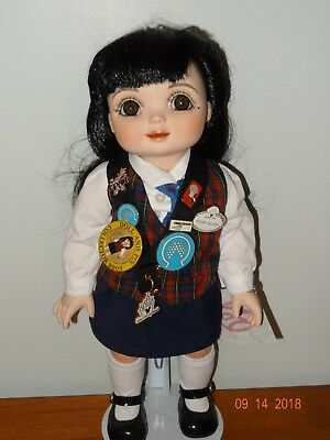 Adora Belle Epcot Tour Guide, Marie Osmond Porcelain Doll, Disney Pin Trader LE