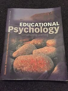 Education psychology textbook Hewett Barossa Area Preview