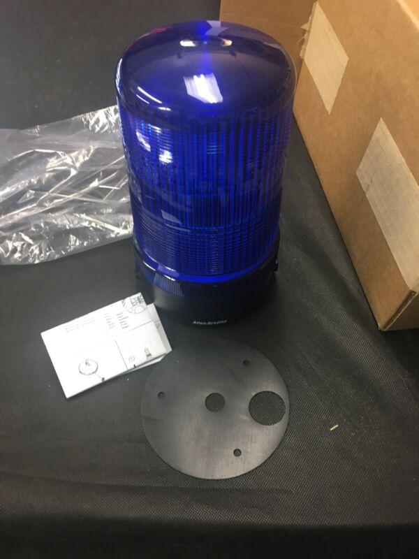 Allen Bradley 855BL-24FH6 Flashing Beacon Blue 24 Volt
