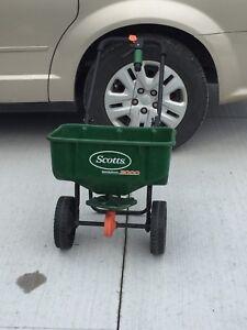 Scott's seed and fertilizer spreader