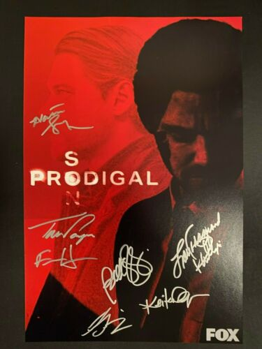 PRODIGAL SON SIGNED PHOTO 12X18 TOM PAYNE AUTOGRAPH BELLAMY YOUNG HALSTON SAGE