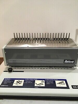 Ibimatic Paper Binding Machine By Ibico Preowned