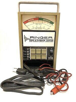 Vintage Sencore Model Yf33 Ringer Yoke Flyback Tester Sweep Circuit Analyzer