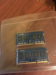 2x3 GB DDR3 SODIMM 204 Pin Memory Modules