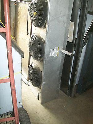 Walk In Cooler Evaporator 3 Motors 115v Aluminized Free Shipping Usa