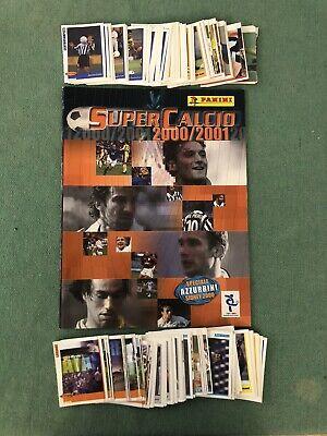 Album Calciatori Panini Supercalcio Vuoto con Schede + Set Completo 2000/01