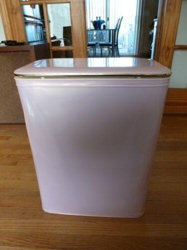 Vintage Redmon Mid-Century Pink Laundry Hamper