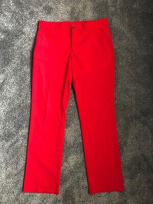 "Mens J.Lindeberg Tour Golf Trousers - 34"" Waist/ 32"" Leg - Great Condition"