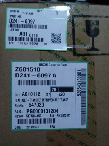 OEM  Ricoh D241-6097 Intermediate Flat Transfer Belt D2416097