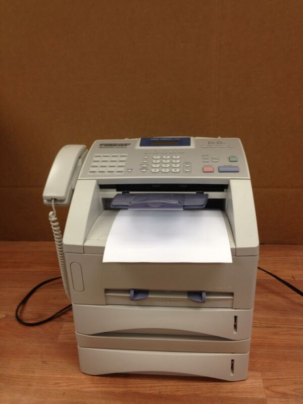 BROTHER INTELLIFAX 5750E FAX MACHINE WORKING AND WITH EXTRA TRAY