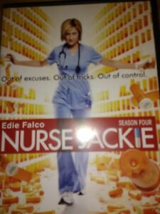 NURSE JACKIE Season 4 DVD Edie Falco $8.00