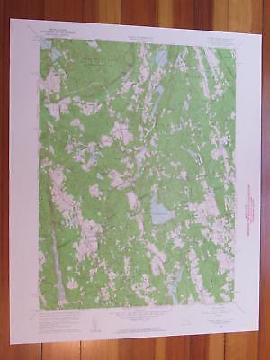 Pound Ridge New York 1961 Original Vintage USGS Topo Map