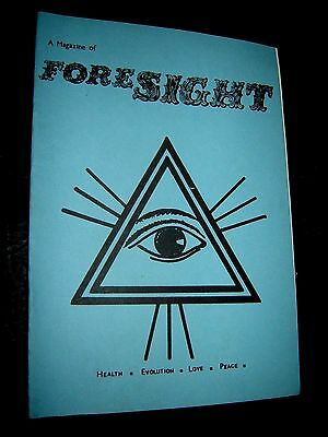 A Magazine Of Foresight  54   1979 Paranormal New Age British Publication