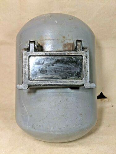 Vintage Fibre Metal Welding Helmet Steampunk Union USA Made