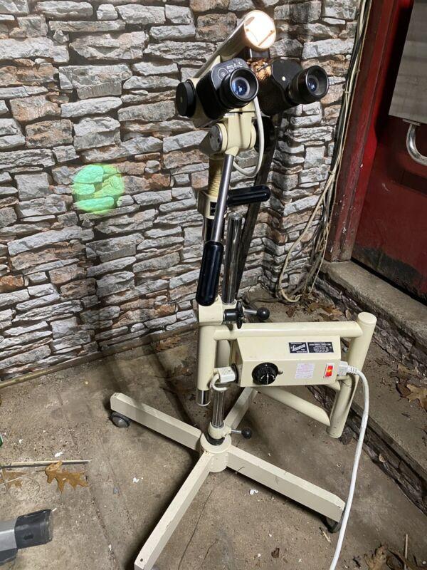 Vintage Leisegang Colposcope Model 1D3 Adjustable Stand