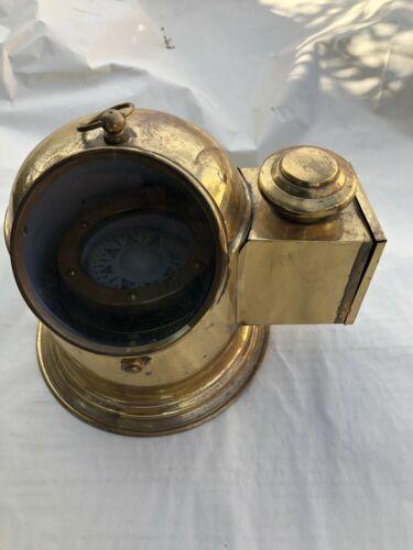 BINNACLE BOAT/SHIP COMPASS WITH OIL LAMP