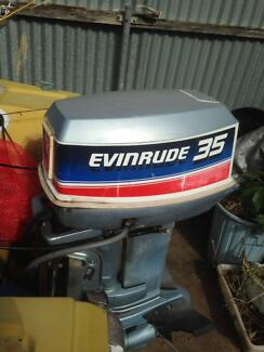 Evinrude 35 Outboard Motor Elizabeth North Playford Area Preview
