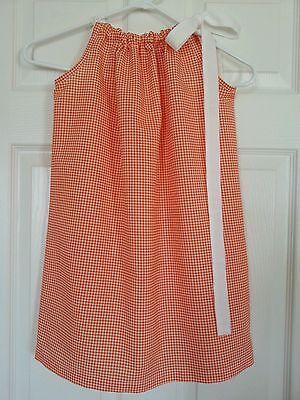Kids Children Clothing Girl Pillowcase  Summer Dress Handmade size 4T US Seller
