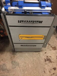 Mastercraft 10 in table saw like new
