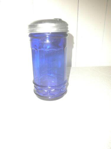 Cobalt Blue Sugar Shaker Jar