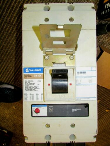 CUTLER HAMMER / CHALLENGER CN3800T33W 800 AMP 600V 3 POLE BREAKER New Gear Pull