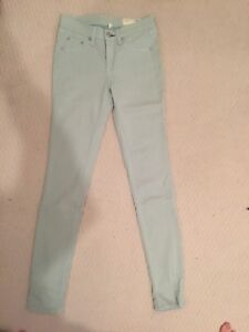 Rag and Bone Mint Green Jegging Size 25 - Excellent Condition