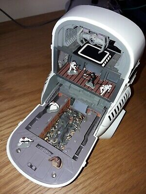 STAR WARS Micro Machines Stormtrooper / Death STAR Playset Galoob 1995 Complete