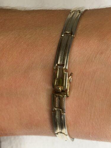 JPA, Jules Perrier Link Bracelet - Sterling & 10K Gold - ARTIST SIGNED
