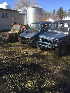 Suzuki Samurai projects.