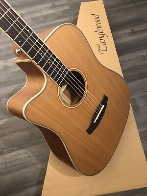 £369 Left Handed Electro Acoustic Guitar Tanglewood TW10 LH Cutaway Dreadnought