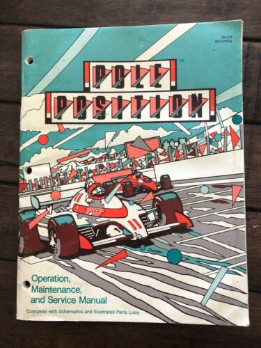 Atari Pole Position Arcade Operation, Maintenance and Service Manual