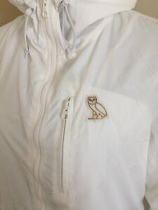 OVO NYLON PACKABLE JACKET -White